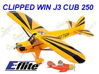 clipper wing, j-3 cub, eflite, E-Flite