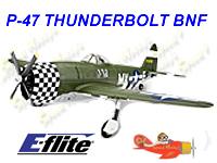 p-47 thunderbolt, eflite, E-flite