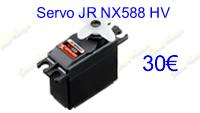 servo JR NX588 HV