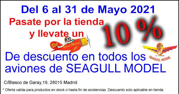 SEAGULL MODEL 10% DESCUENTO