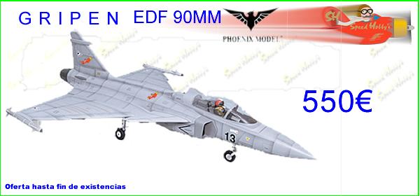 Phoenix Model,GRIPEN EDF 90mm