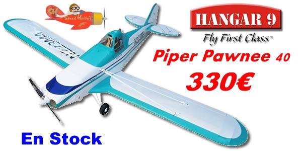 'Hangar 9', 'Piper Pawnee', 'Piper Pawnee 40'