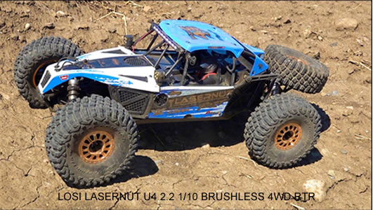 LOSI LASERNUT U4 2.2 1/10 BRUSHLESS 4WD RTR