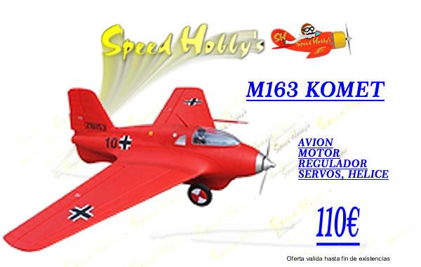 'M 163', 'Komet', 'M163 Komet', 'avion', 'aeromodelismo'
