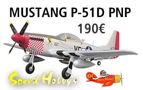 MUSTANG P-51D PNP