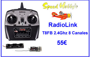 RadioLink T8FB 2.4Ghz 8 Canales