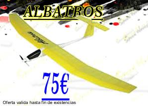 glider, velero, albatro, aeromodelismo speed hobbys