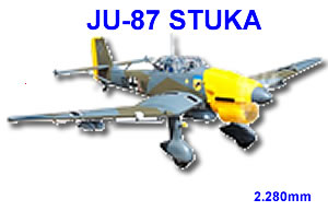 ju-87 stuka, seagull model, sea284